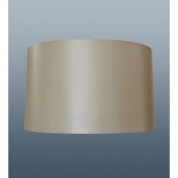 "10"" OVAL TABLE LAMP SILK LOOK SHADE IN CREAM COLOUR"