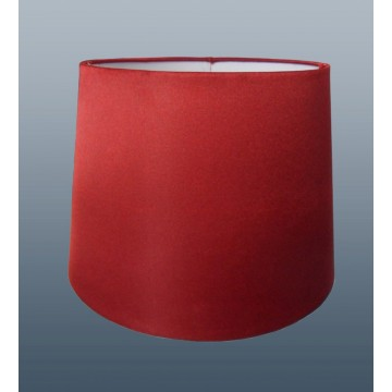 """10"""" PENDANT OR TABLE LAMP SILK LOOK SHADE IN CRANBERRY"""