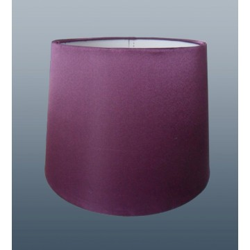 """10"""" PENDANT OR TABLE LAMP SILK LOOK SHADE IN PLUM COLOUR"""