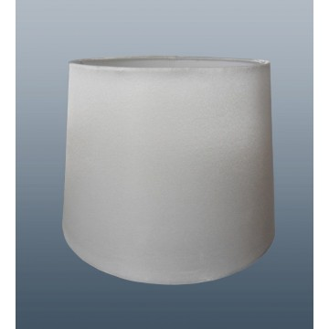 """10"""" PENDANT OR TABLE LAMP SILK LOOK SHADE IN WHITE"""