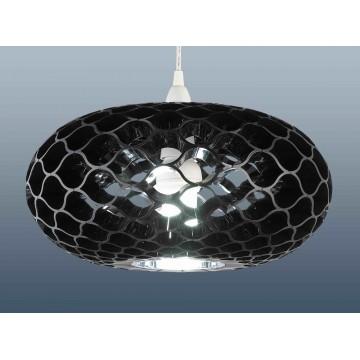 Funky retro style loren honeycomb pendant lampshades in black funky retro style loren honeycomb pendant lampshades aloadofball Choice Image