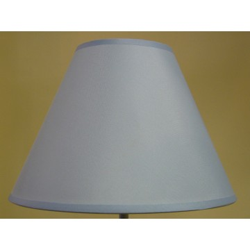 """9"""" COTTON COOLIE PENDANT OR TABLE LAMPSHADE IN LIGHT BLUE COLOUR"""