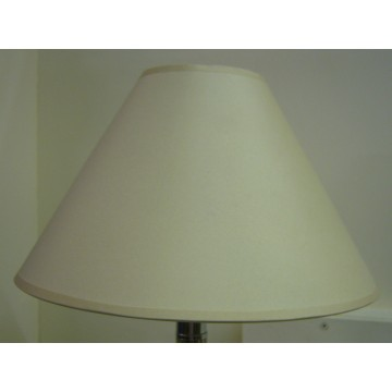 "9"" COTTON COOLIE PENDANT OR TABLE LAMPSHADE IN CREAM COLOUR"