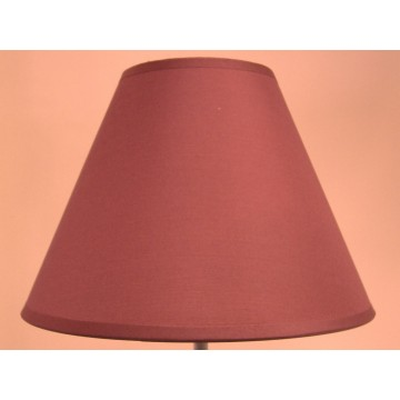 """9"""" COTTON COOLIE PENDANT OR TABLE LAMPSHADE IN BURGUNDY COLOUR"""