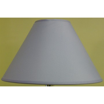 """12"""" COTTON COOLIE PENDANT OR TABLE LAMPSHADE IN LILAC COLOUR"""