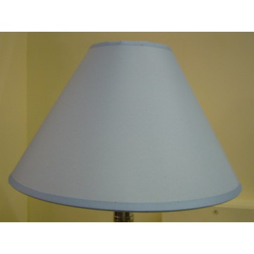 """12"""" COTTON COOLIE PENDANT OR TABLE LAMPSHADE IN LIGHT BLUE COLOUR"""