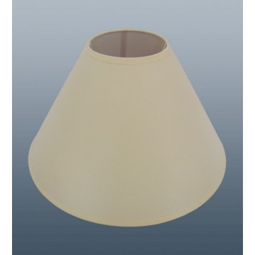 """16"""" COTTON COOLIE PENDANT OR TABLE LAMPSHADE IN CREAM COLOUR"""