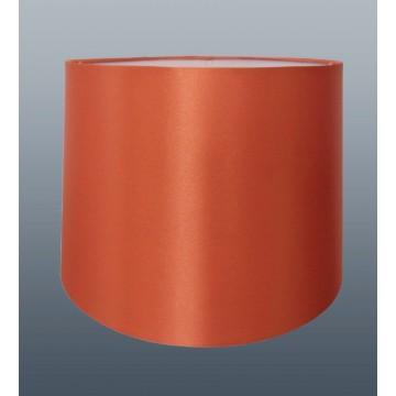 "10"" PENDANT OR TABLE LAMP SILK LOOK SHADE IN AUTUMN (Burnt Orange)"