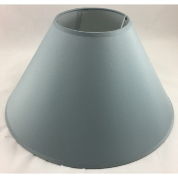 """14"""" COTTON COOLIE PENDANT OR TABLE LAMPSHADE IN GREY COLOUR"""