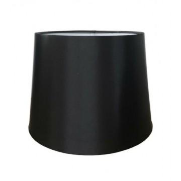 "10"" PENDANT OR TABLE LAMP SILK LOOK SHADE IN BLACK"