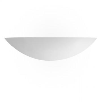 GYPSUM - MIAMI 40cm PLASTER UPLIGHTER