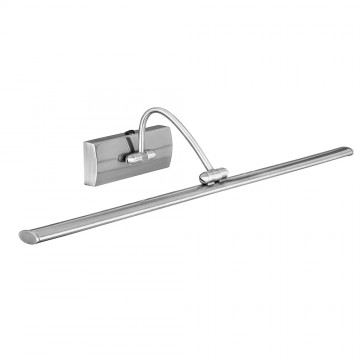 LED PICTURE LIGHT - SATIN SILVER - SWITCHED
